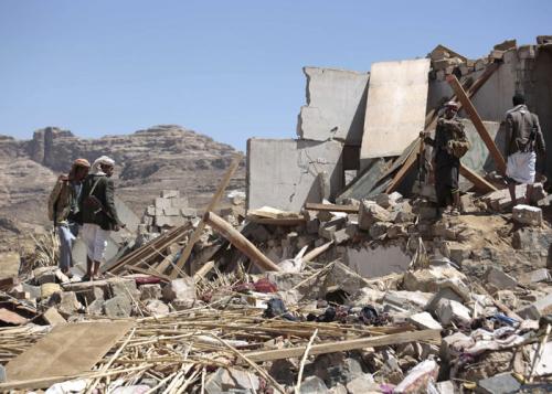 مقتل قيادات حوثية بارزة في غارة للتحالف العربي شمال غرب اليمن