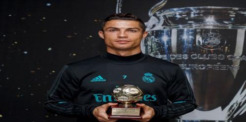 رونالدو يحصد جائزة أفضل هداف في العالم لموسم 2016 / 2017