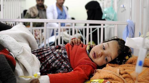 إصابات الكوليرا في اليمن تقترب من مليون حالة