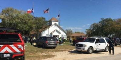 مسلح يفتح النار داخل كنيسة ويقتل 10 أشخاص في تكساس الأمريكية