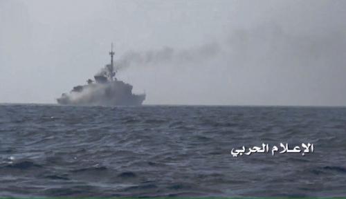 """الحوثيون"""" يهددون باستهداف بوارج """"التحالف"""" حال إغلاق موانئ اليمن"""