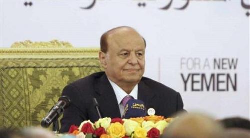 الرئاسة اليمنية تنفي أن يكون الرئيس هادي أو أيا من وزرائه تحت الإقامة الجبرية في الرياض