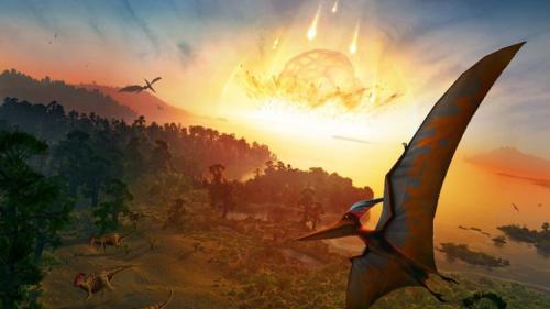 حظ الديناصورات السيئ تسبب بانقراضها !