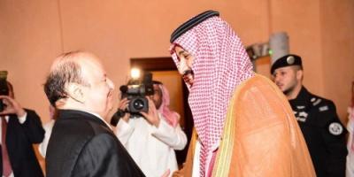هادي يصدر قراراً جمهوريا بتشكيل لجنة تنسيق ومتابعة تنفيذ اجتماعه مع ولي العهد السعودي