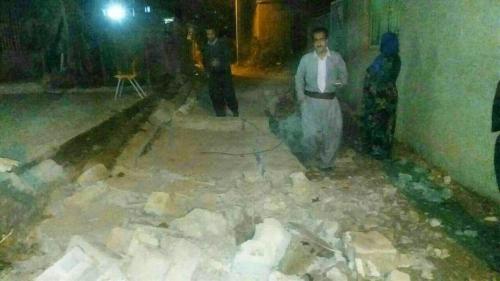 مقتل وإصابة المئات في العراق وإيران جراء زلزال ضرب مدينة حلبجة العراقية