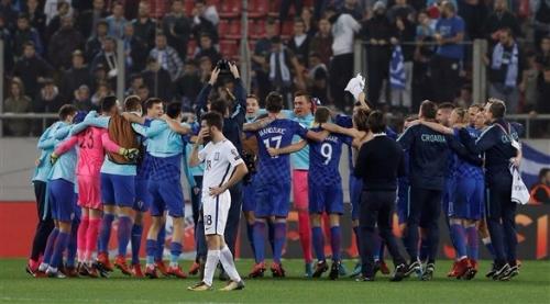 كرواتيا تحقق المهم في اليونان وتضمن مكانها بين المتأهلين لمونديال روسيا