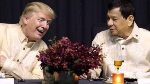 ترامب يلتقي دوتيرتي وسط مطالبات بإثارة قضية حقوق الإنسان في الفلبين