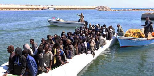 """الأمم المتحدة: سياسة أوروبا تجاه المهاجرين في ليبيا """"غير إنسانية"""""""