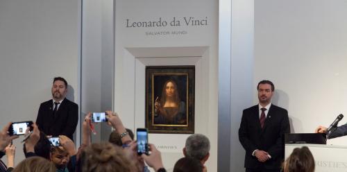 بيع آخر أعمال الرسام الإيطالي دافنشي بـ450 مليون دولار