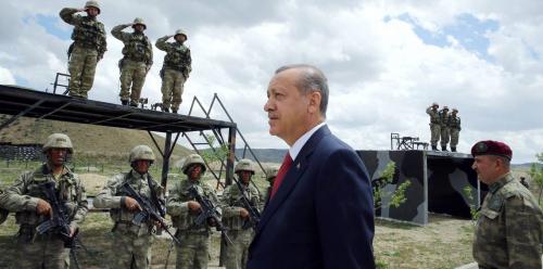 وسط توتر جديد.. أردوغان يعلن سحب جنود أتراك من تدريبات للحلف الأطلسي