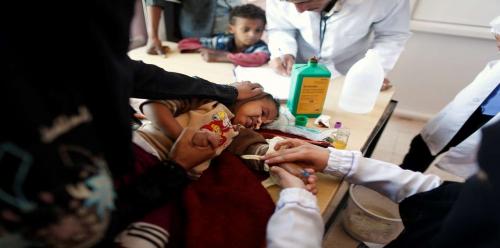 البنك الدولي يمنح اليمن 150 مليون دولار لمكافحة الكوليرا