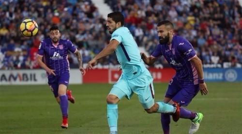 الدوري الإسباني: سواريز يقود برشلونة لسحق ليغانيس