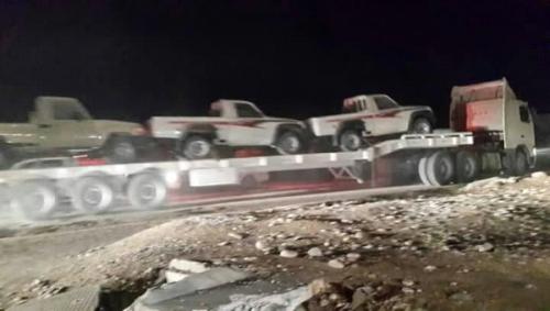 التحالف العربي يدفع بتعزيزات عسكرية وأمنية إلى محافظة المهرة
