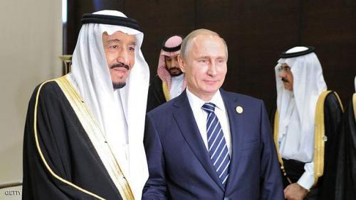 """العاهل السعودي وبوتن يبحثان هاتفيا تطورات """"أوضاع المنطقة"""""""