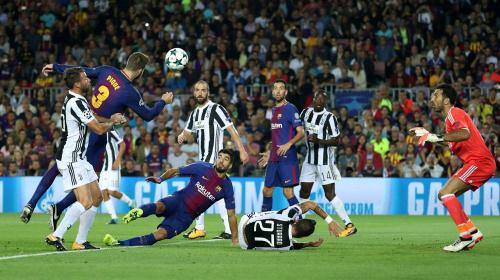 برشلونة ينشد الاستفادة من الوضع المهزوز ليوفنتوس في دوري الأبطال