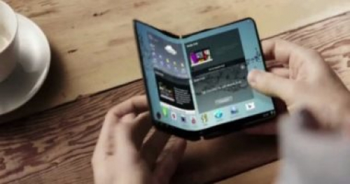 #سامسونج تعلن رسميا عن طرح أول هاتف بشاشة قابلة للطى العام المقبل