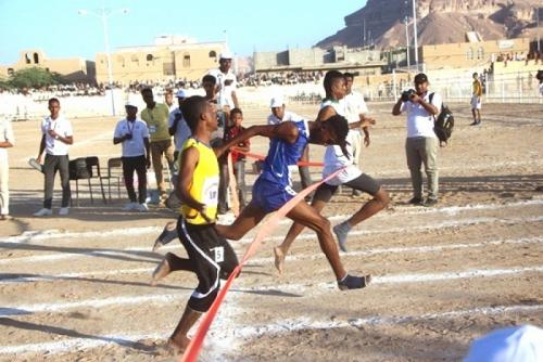 حضرموت الوادي يتوّج بطلاً للبطولة الوطنية الأولى للناشئين لألعاب القوى