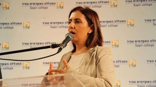 وزيرة إسرائيلية : سيناء أفضل مكان للفلسطينيين لإقامة دولتهم!