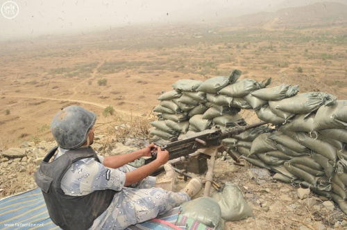 التحالف يحرر أحد أهم الجبال الاستراتيجية قبالة الحدود السعودية