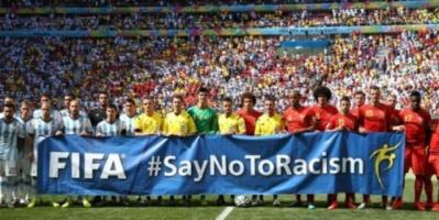 """كأس العالم 2018: الحكام """"يحق لهم إلغاء المباريات"""" بسبب العنصرية"""