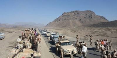 """"""" بالصور """" قوات اللواء الخامس دعم واسناد بلحج تحتفل بذكرى نوفمبر المجيد بمناورة وعرض عسكري"""