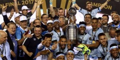 غريميو يتوج بطلاً لكأس ليبرتادوريس ويتأهل إلى بطولة كأس العالم للأندية