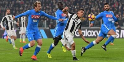 يوفنتوس يصطدم بنابولي في قمة ترتيب الدوري الإيطالي