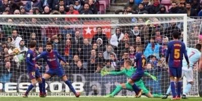 الدوري الإسباني: برشلونة يسقط أمام سلتا فيغو في كامب نو