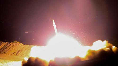 محاولة حوثية فاشلة لإطلاق صاروخ باليستي باتجاه العاصمة الإماراتية أبوظبي