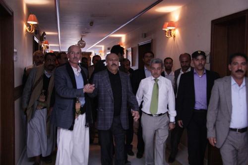 صحيفة: أجهزة استخبارات موالية لصالح افشلت مخططا إيرانيا قطريا لتصفية صالح