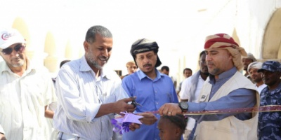 الهلال الأحمر الإماراتي يفتتح مستشفى حجر بعد استكمال اعمال الصيانة والتجهيزات