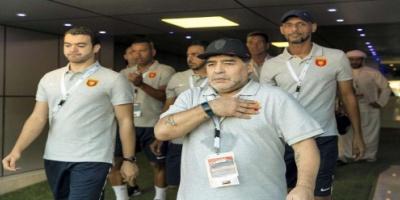 إيقاف مارادونا مدرب الفجيرة 4 مباريات بسبب محاولته الاعتداء على حكم مباراة بني ياس