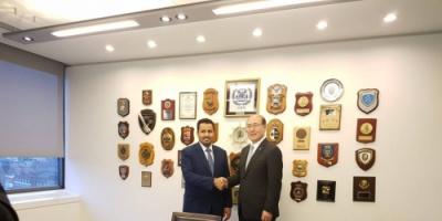 الحالمي يلتقي الأمين العام للمنظمة البحرية الدولية