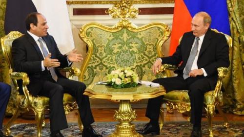 الكرملين يعلن موعد زيارة بوتين لمصر