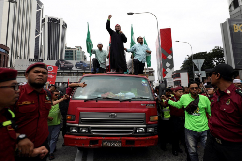وزير يقود احتجاجات بماليزيا ضد قرار ترامب حول القدس