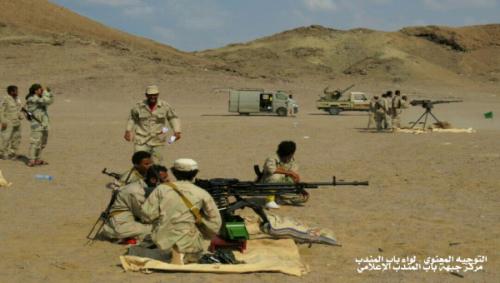 اختتام الدورة العسكرية الثانية في لواء باب المندب