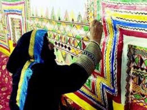 فن القَطّ العسيري في السعودية ضمن قائمة التراث العالمي