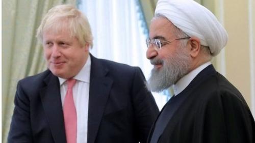جونسون يختتم زيارته لإيران عائدا بدون مواطنته البريطانية