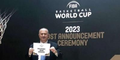 مونديال السلة عام 2023 يقام في الفلبين واليابان وإندونيسيا