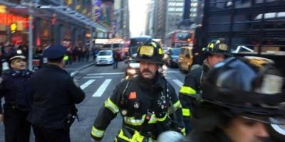 اعتقال شخص عقب انفجار في مانهاتن.. وحديث عن جرحى