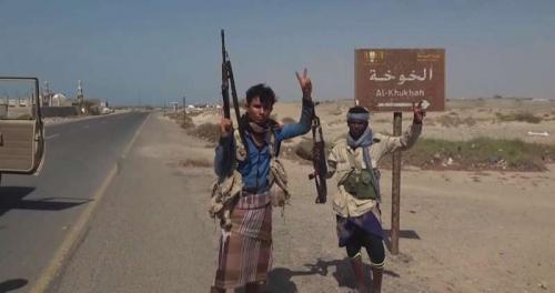 تحرير الخوخة ثمرة الجهود الإماراتية في دعم المقاومة