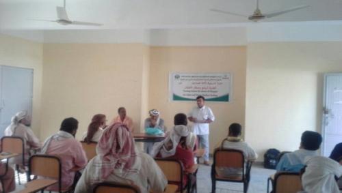 أبين : دورة تدريبية لأئمة المساجد تهدف إلى نشر الوعي الصحي