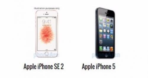 أبرز الاختلافات بين هاتفى أيفون 5s وأيفون SE 2