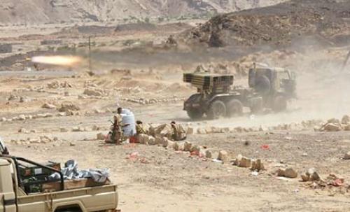 إلتحام جبهة البقع بجهة الجوف وتحرير منطقة الخليقا