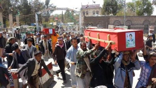 «50» قتيلا حوثيا يصلون إلى أحد مشافي صنعاء سقطوا في معركة الساحل الغربي