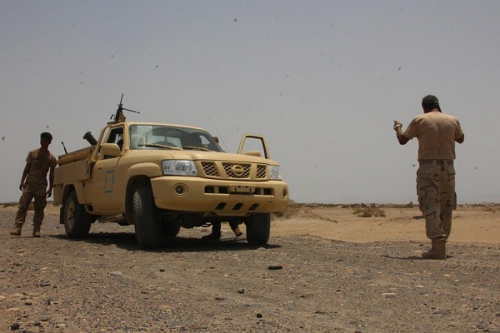 أبين : الحزام الامني يعتقل «2» من القاعدة بعد اشتباكات في منطقة الصرة