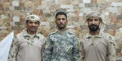 قيادة التحالف العربي بعدن تكرم قائد اللواء الأول #دعم_واسناد العميد منير اليافعي