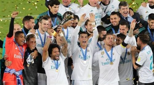 رونالدو يقود ريال مدريد للتتويج بطلاً لكأس العالم للأندية على حساب غريميو البرازيلي
