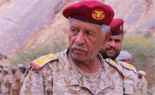 اللواء مفرح بحيبح: المعارك في بيحان مستمرة حتى تطهيرها من جيوب الحوثيين