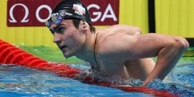 الروسي كوليسنيكوف يحرز ميدالية ذهبية في بطولة أوروبا للسباحة